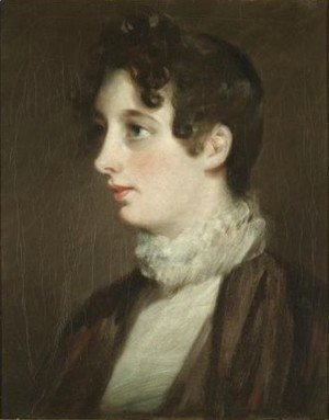 John Constable - Portrait Of Laura Moubray