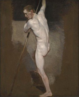 John Constable - Study Of A Male Nude