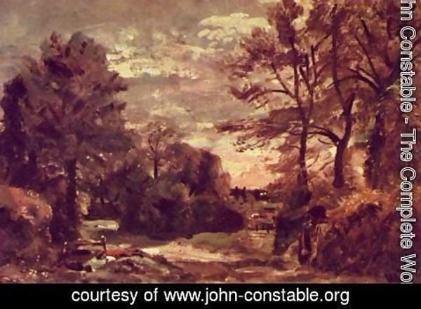 John Constable - Land route