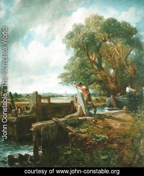 John Constable - The Lock 2