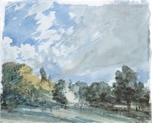 John Constable - Hampstead