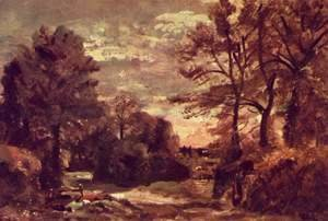 John Constable - Country road