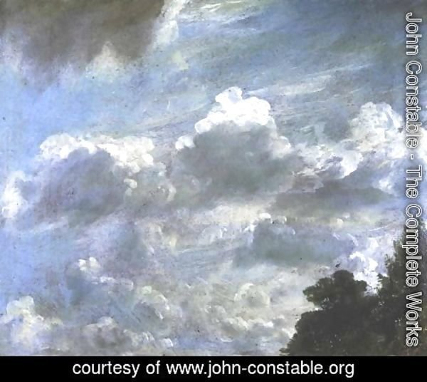 John Constable - Cloud Study 6