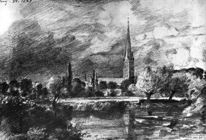 John Constable - Salisbury cathedral