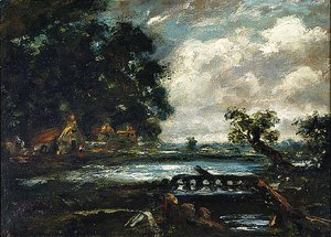 Study for The Leaping Horse (View on the Stour)
