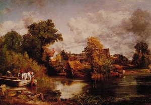 John Constable - The White Horse