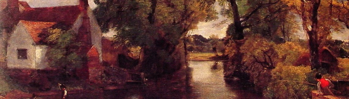 John Constable - Mill Stream
