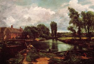 John Constable - A Water Mill