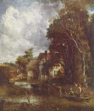 John Constable - The Valley Farm