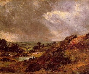 John Constable - Branch Hill Pond Hampstead