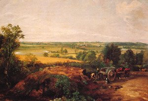 John Constable - View Of Dedham