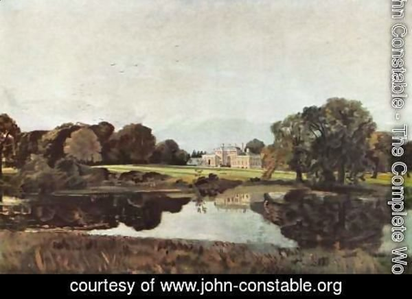 John Constable - Malvern Hall in Warwickshire 1809