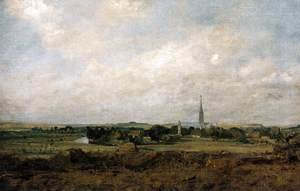 John Constable - View of Salisbury c. 1820
